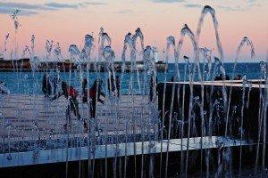фото фонтана на набережной Ялты